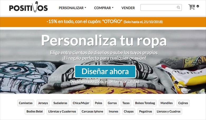 Vender camisetas online: Positivos