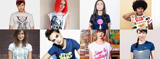 """Camisetas del blog """"Solo pienso en camisetas"""""""