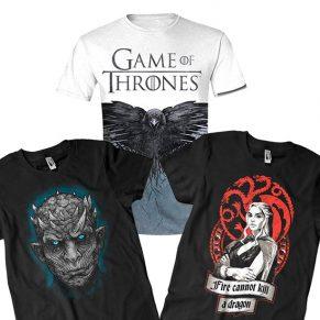 Camisetas Juego de Tronos: ¿cuál me compro?
